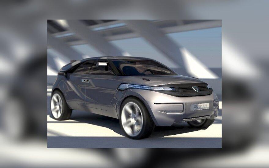 """Dacia"" pristato koncepcinį ""Duster"" automobilį"