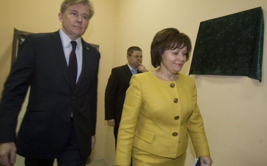 Audronius Ažubalis, Rasa Juknevičienė