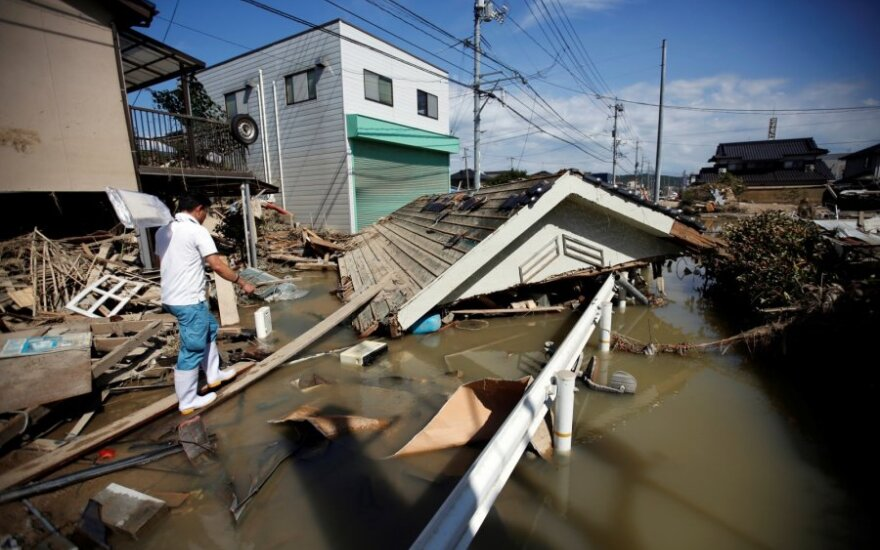 Lithuanian leaders offer condolences over deadly floods in Japan