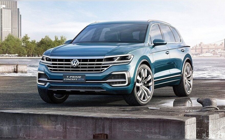 """Volkswagen T-Prime Concept GTE"""