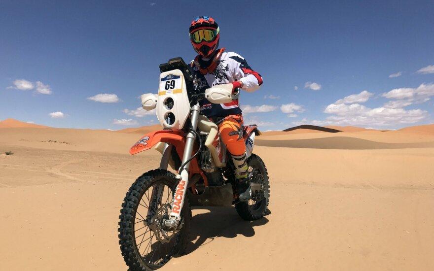 Mažasis Dakaras prasideda: vienintelis lietuvis stoja į kovą