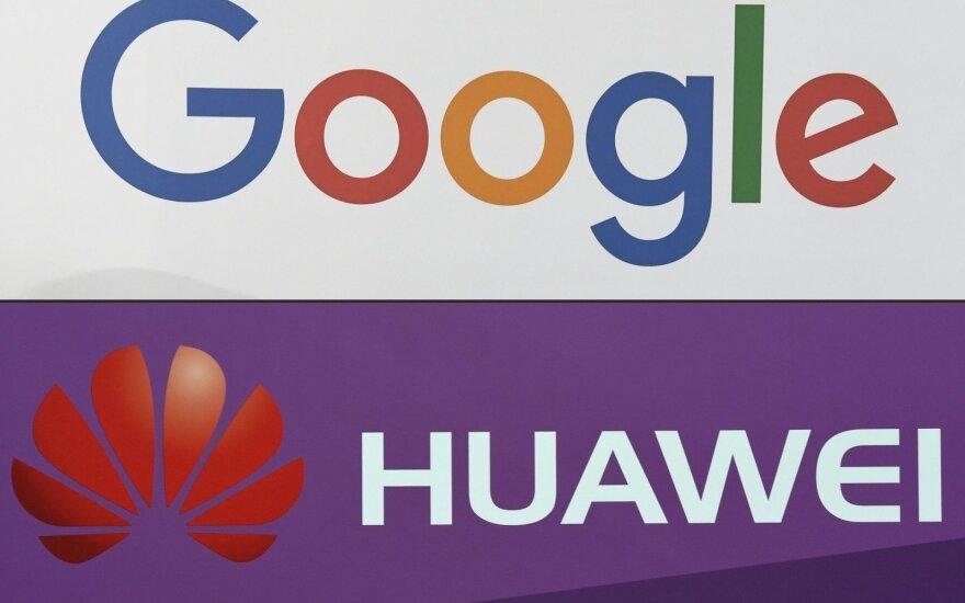 """Juodos dienos """"Huawei"""": """"Google"""" apribojo prieigą prie """"Android"""""""