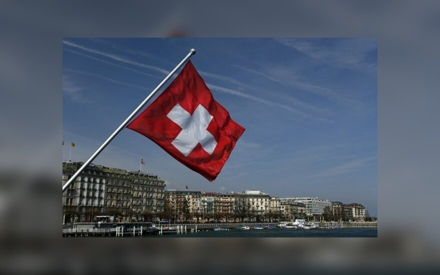 Šveicarijos vėliava