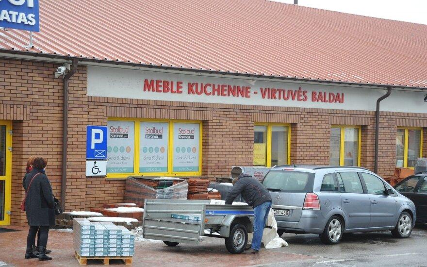 Į Lenkiją – ne tik maisto: palygino statybinių medžiagų kainas