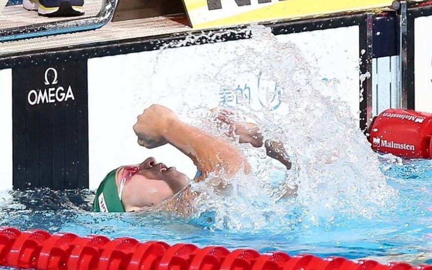 R. Meilutytė - greičiausia 200 m kompleksinio plaukimo atrankoje