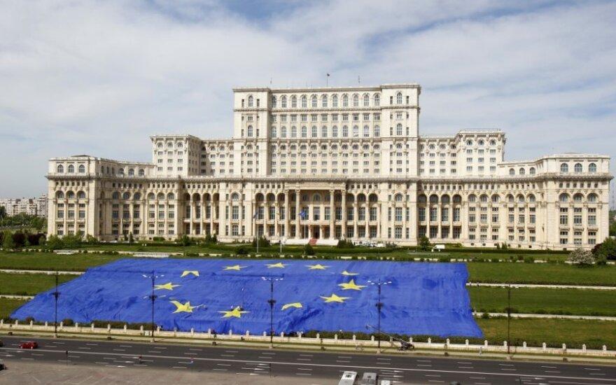 Rumunijos parlamento rūmai Bukarešte