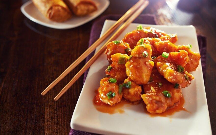 Traški vištiena kiniškai