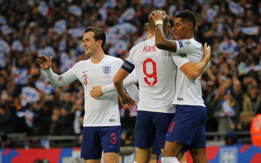 Anglijos futbolo rinktinė