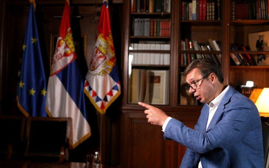 Serbija balandžio 26 dieną surengs parlamento rinkimus
