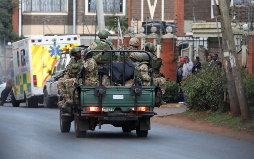 Kenijoje per ataką viešbučio komplekse žuvo 14 žmonių