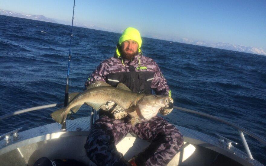Jono Valančiūno žvejybos kadras