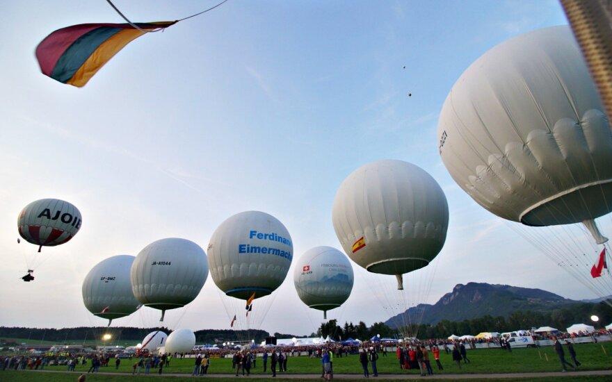 Legendinės Gordono Bennetto taurės dujinių balionų lenktynės