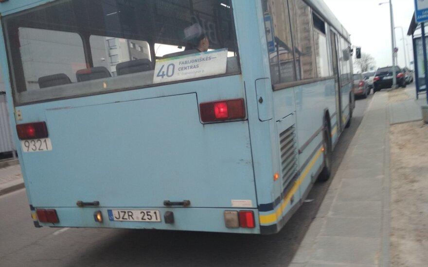 Vilnietė dūsta viešajame transporte: realių pokyčių nematau