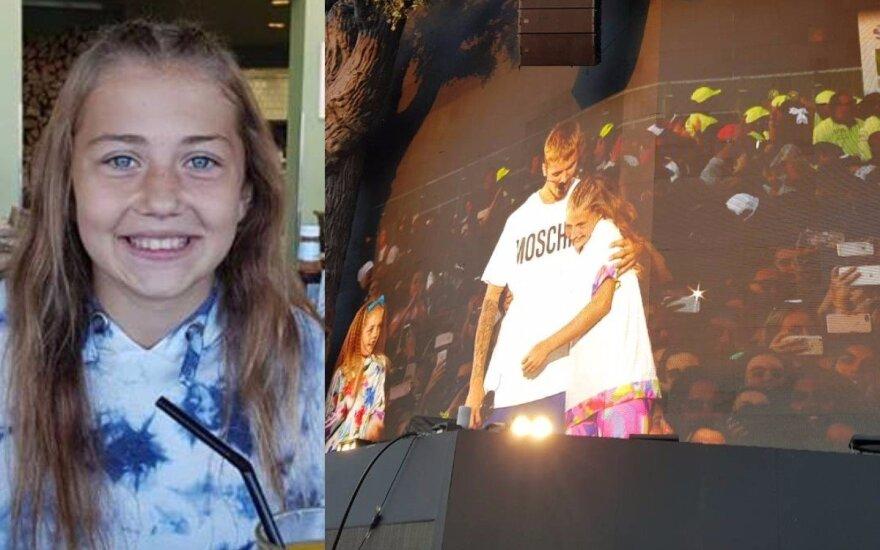 Su J. Bieberiu šokusi lietuvaitė papasakojo, kas nutiko jai vos nulipus nuo scenos