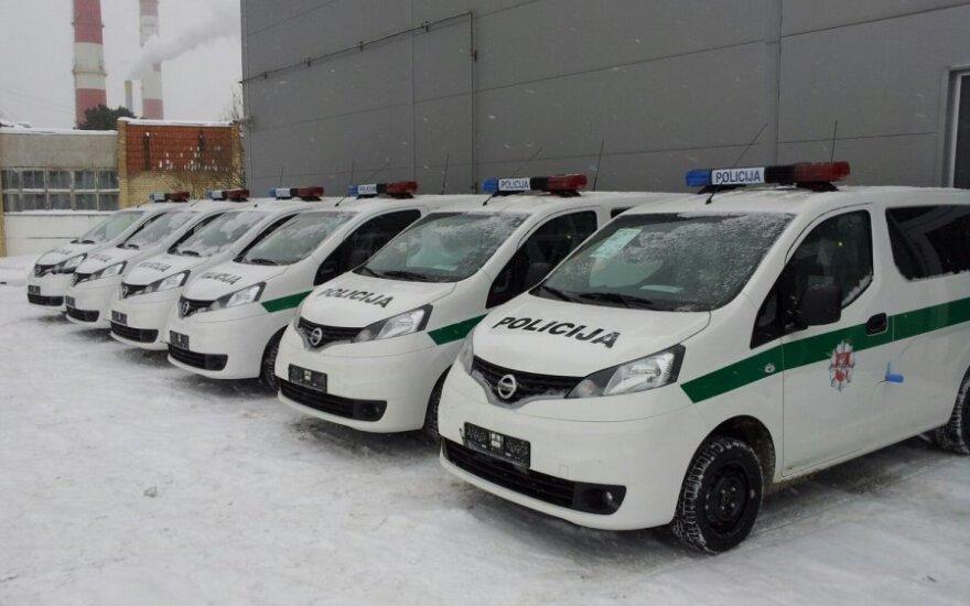 Lietuvos policijos Nissan NV200