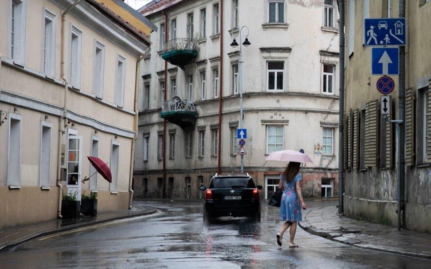 Orai: labai tikėtina, kad prireiks lietsargio