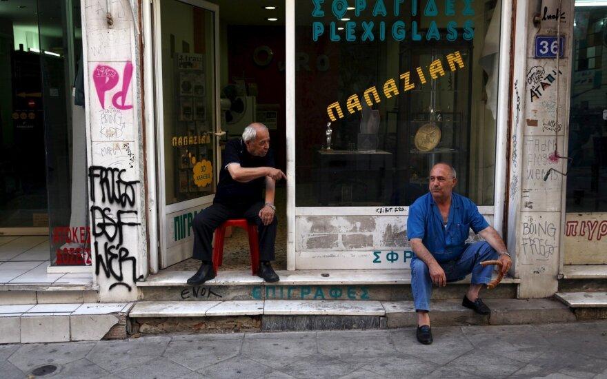 Graikijoje per išpuolį prieš antifašistinį centrą nukentėjo penki žmonės