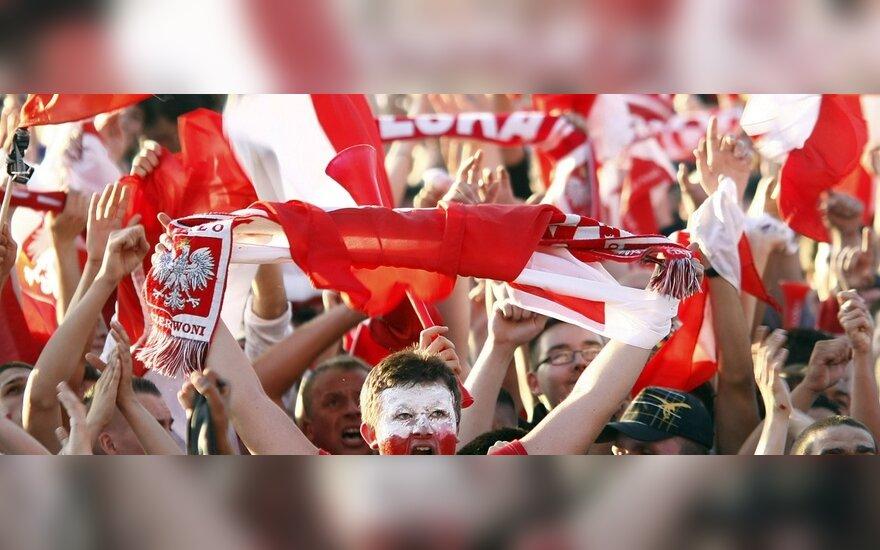 Lenkijos futbolo fanai