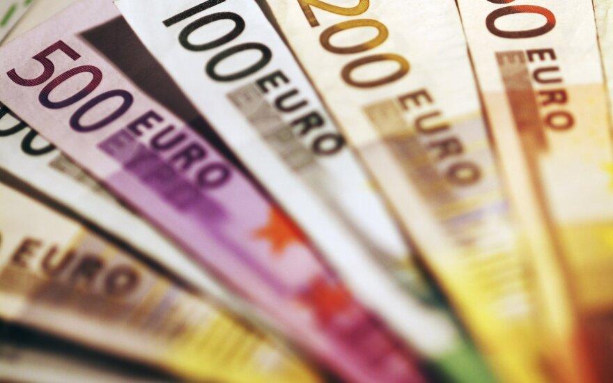 Euro zonos BVP trečiąjį metų ketvirtį augo net 12,7 proc.