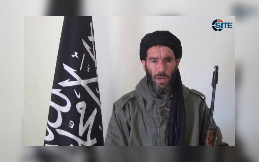 Islamistų vadas Moktaras Belmoktaras