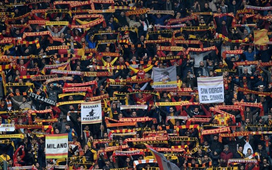 """""""Benevento"""" komandos sirgaliai"""