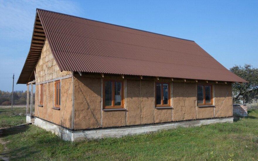Šalia Vilniaus statys namus iš kitokių medžiagų: tarp privalumų ir daug mažesnė kaina
