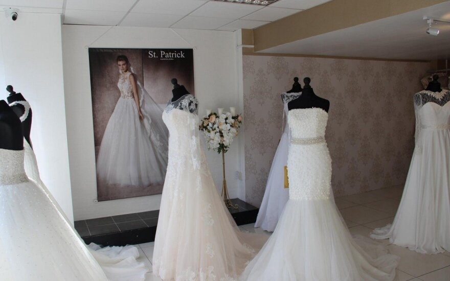 Lietuvė vestuvinių suknelių dizainerė Londone įkūrė savo verslą
