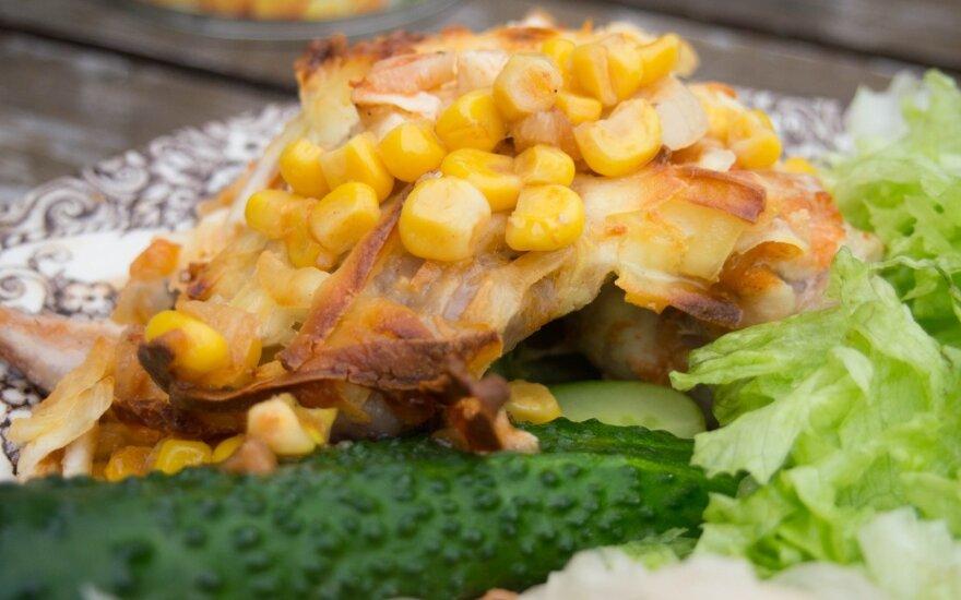 Meksikietiška vištiena, kurios negalėsite nekartoti