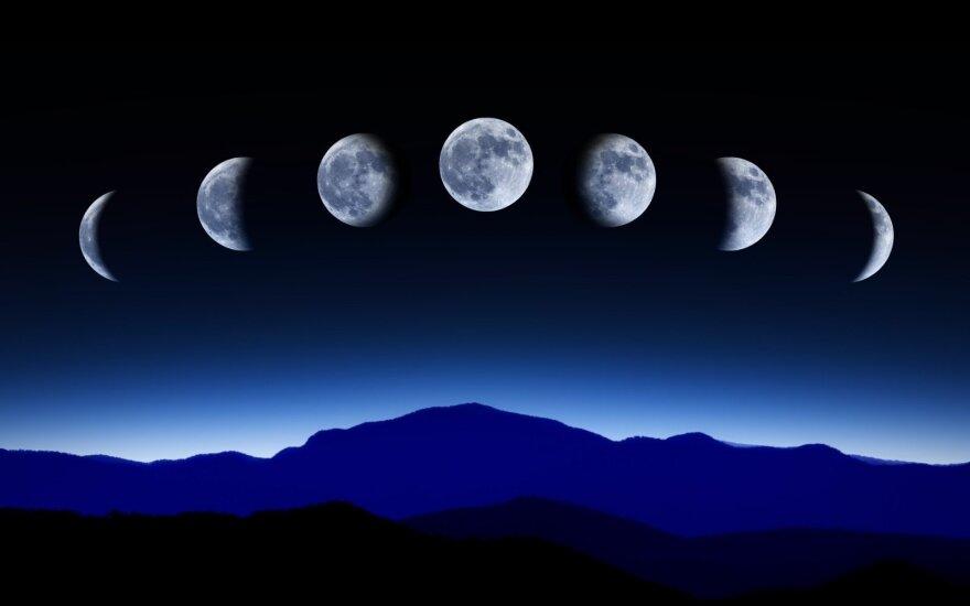 Kaip mėnulio fazės veikia Jūsų organizmą, kokios ligos paūmėja?