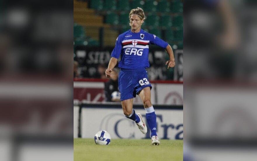 """D.Šembero CSKA vėl nugalėjo, M.Stankevičiaus """"Sampdoria"""" sužaidė taikiai"""