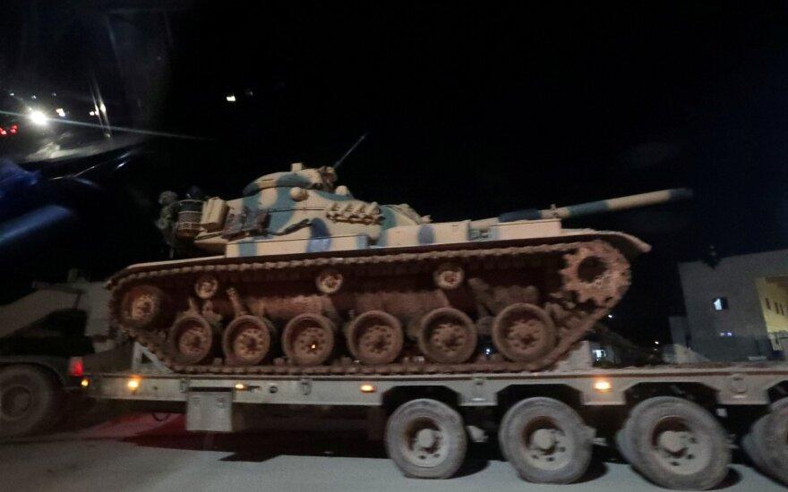 Turkijos pajėgos prie Idlibo