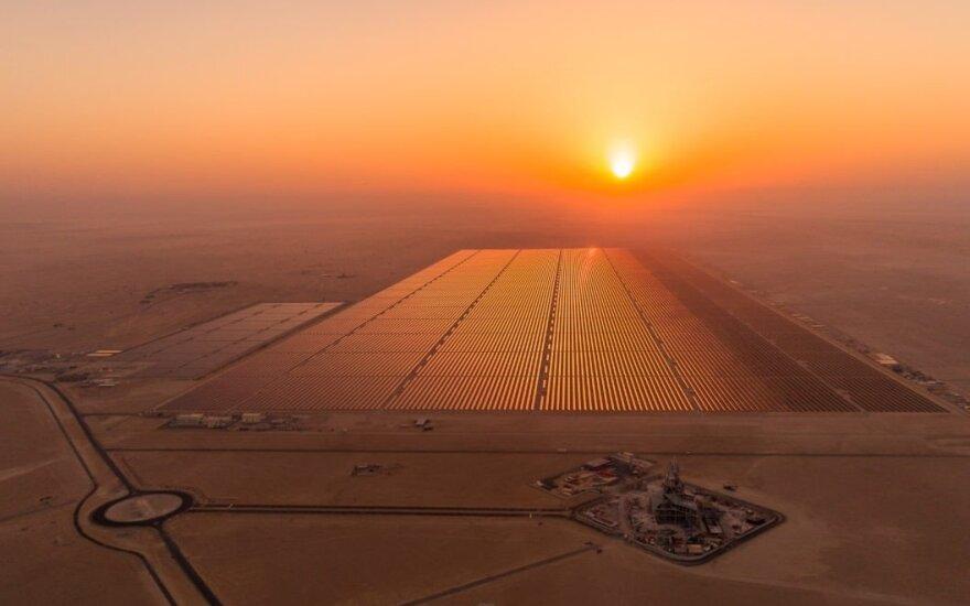Saulės jėgainės Egipte