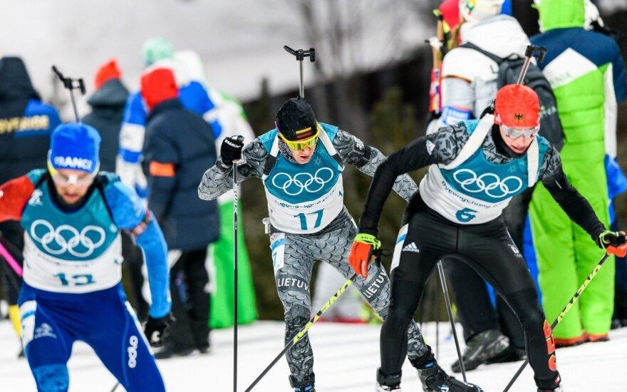 Pjongčango olimpiada: 12,5 km persekiojimo lenktynės – Tomas Kaukėnas