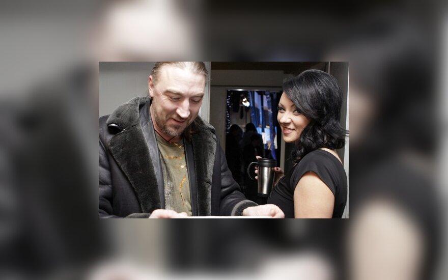 Giedrė Balutytė ir Vladas Kovaliovas: po painaus detektyvo jausmai neišblėso?