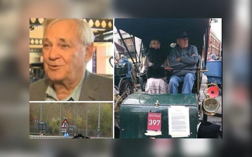 Garbaus amžiaus kanadietis žuvo vairuodamas savo senovinį automobilį