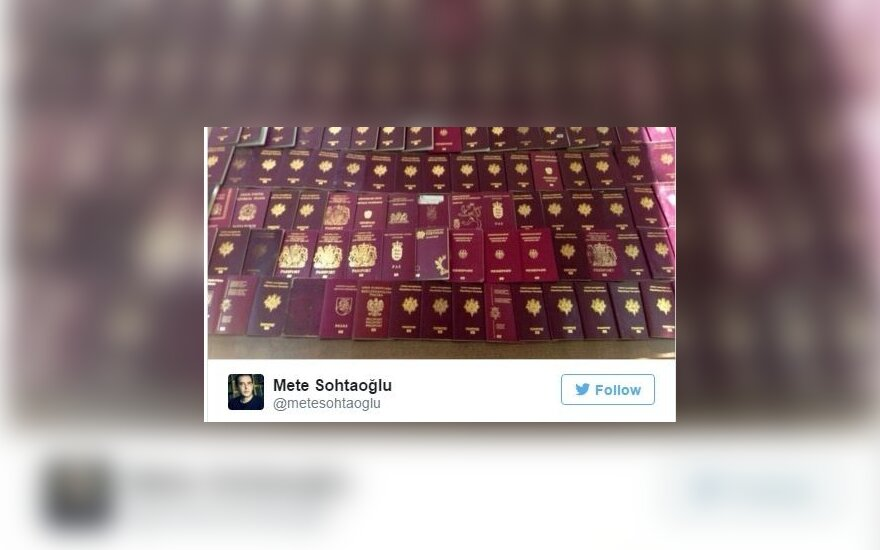 Lithuanian document among 150 European passports seized from suspected ISIS members