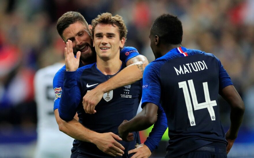 UEFA Tautų lyga: Prancūzija – Vokietija