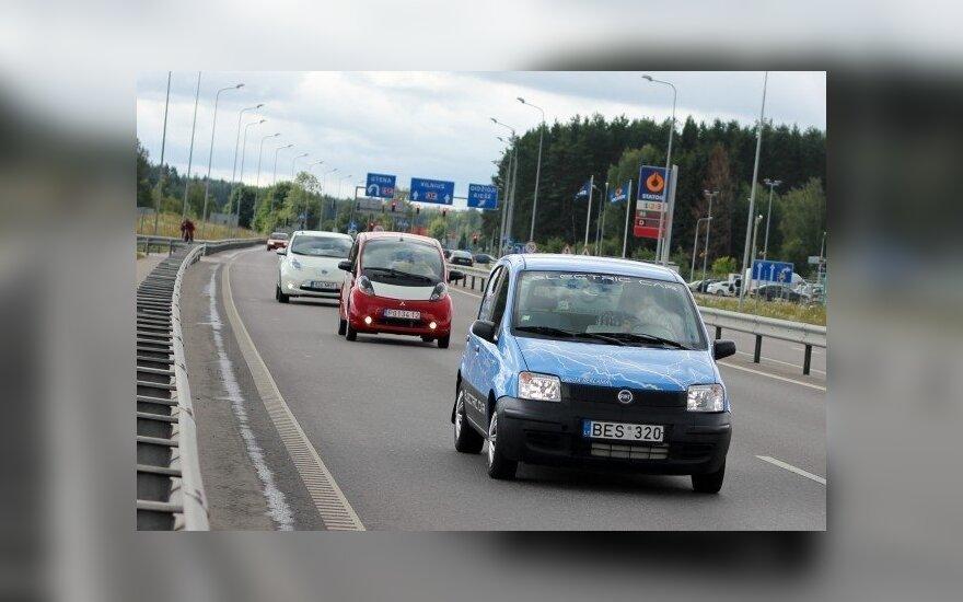 Elektromobiliai