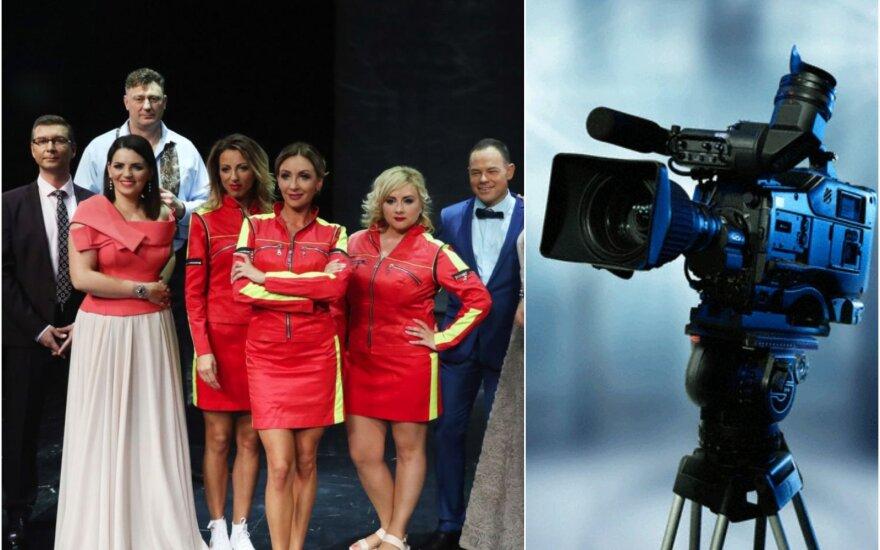 """""""TV pagalbos"""" komanda (TV3 nuotr) ir asociatyvi nuotr."""