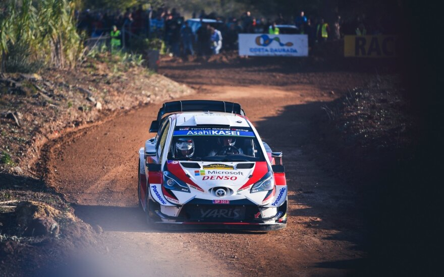 WRC etapas Ispanijoje