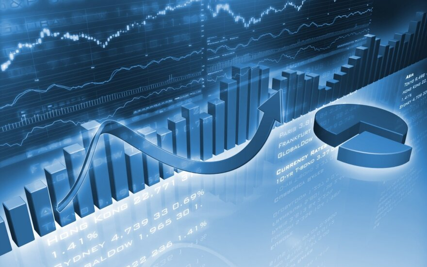 Infliacija skatina Europos akcijų rinkos augimą