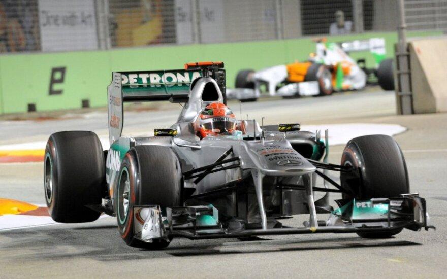 "Michaelis Schumacheris (""Mercedes"")"