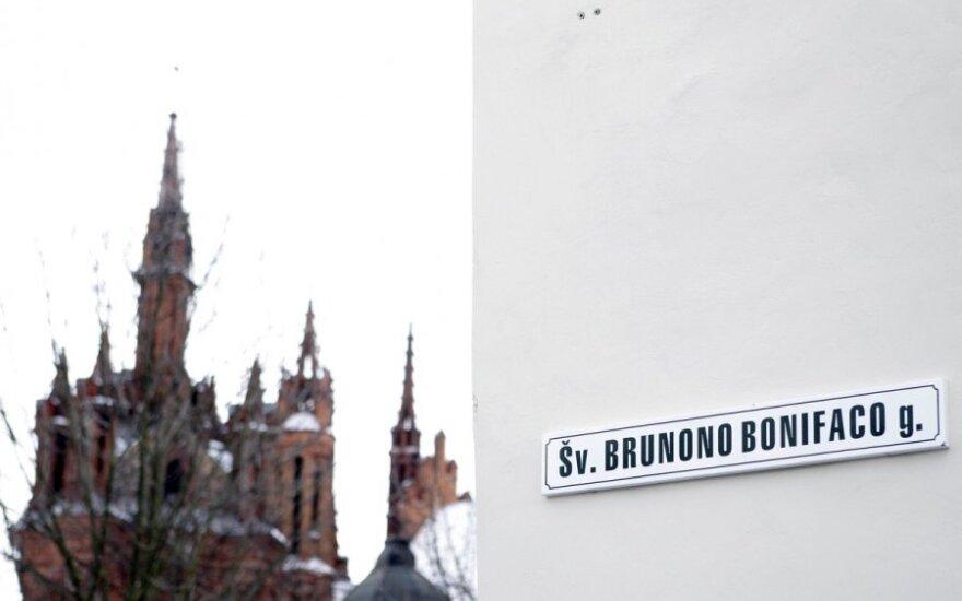 Istorikė: šv. Brunoną tariamai nužudžiusio Zebedeno gatvė Vilniuje – ne istorija, o politika