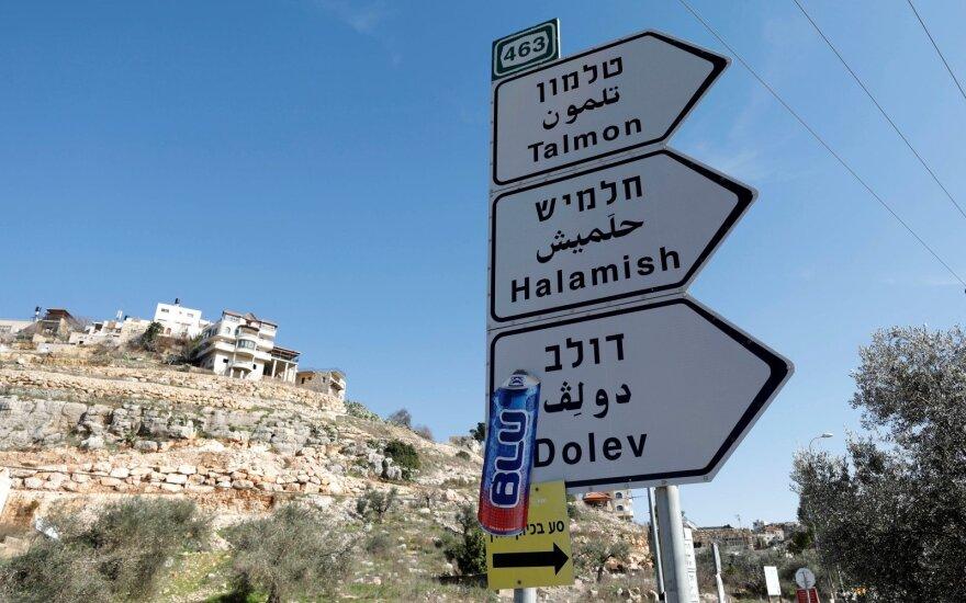 Izraelio nausėdijos Palestinoje