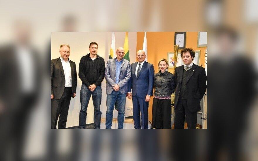 """Organizacijos """"Badminton Europe"""" nariai lankėsi LTOK"""