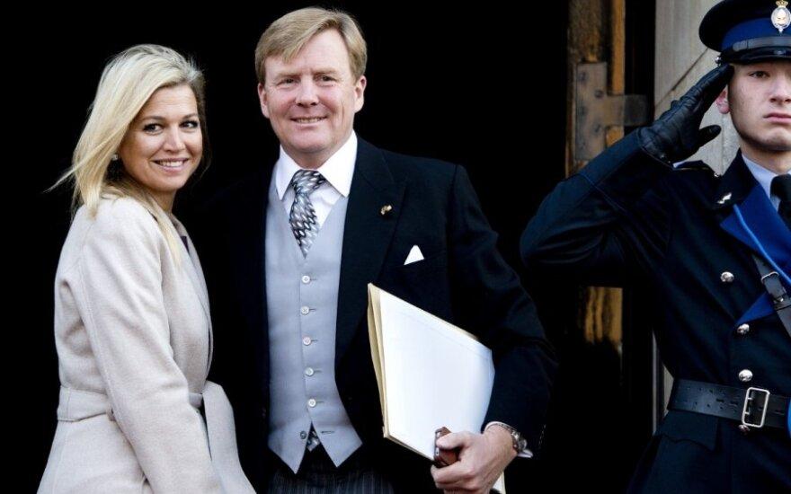 Willemas Alexanderis su žmona Maxima