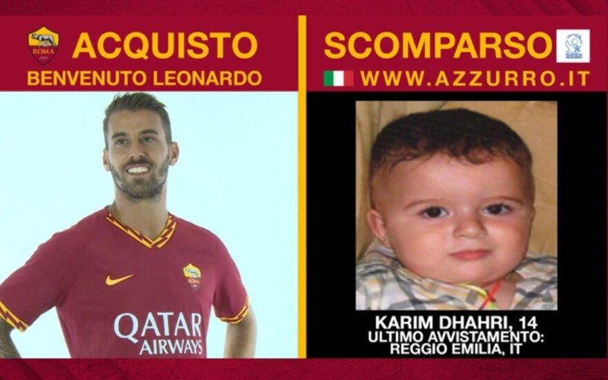 """""""AS Roma"""" socialinė reklama"""