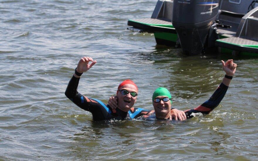 Kuršių marių plaukimo maratonas (Foto: Arlandas Antanas Juodeška)