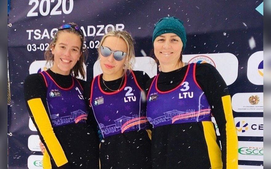 Svetlana Bekiš-Šturo, Lilija Frelik ir Danielė Kvedaraitė