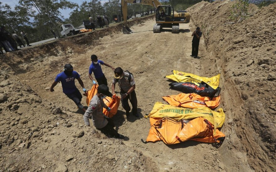 Indoneziją supurtė žemės drebėjimas